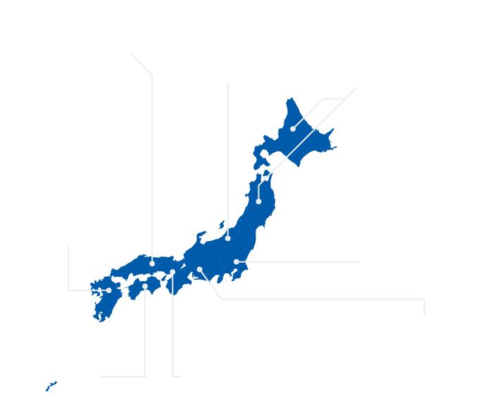 全国自治体マップ