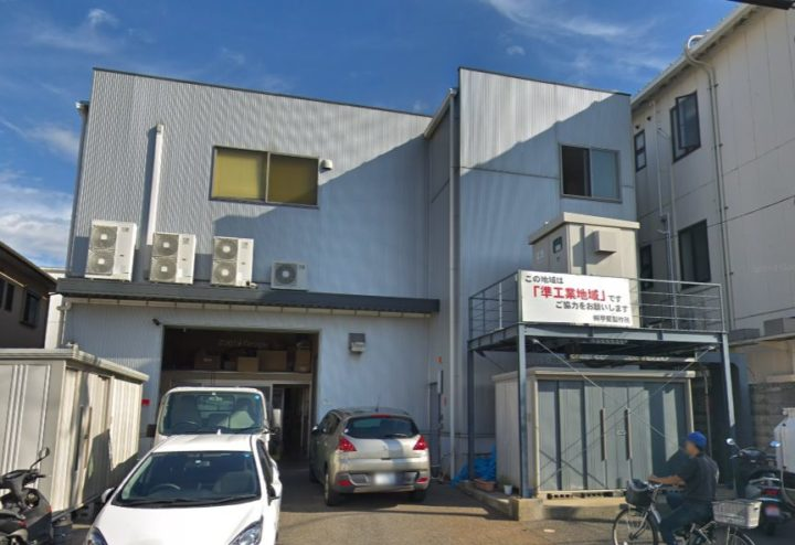 兵庫県尼崎市 工場内のLED照明工事完了しました!